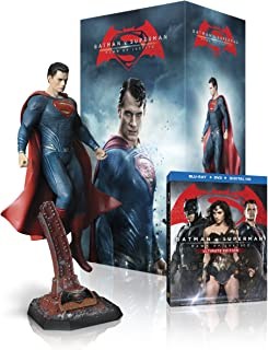 Batman v Superman: Dawn Of Justice (Superman Figurine) (Blu-ray + DVD + Digital)