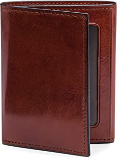 Men's Double I.D. Trifold in Old Leather - RFID