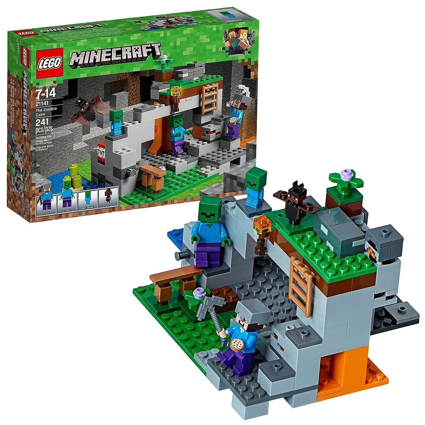 LEGO Minecraft The Zombie Cave 21141 Building Kit (241 Piece)