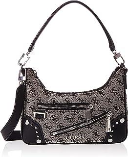 Guess Damen Shoulder Bag Frankie Top Zip Schultertasche, Einheitsgröße