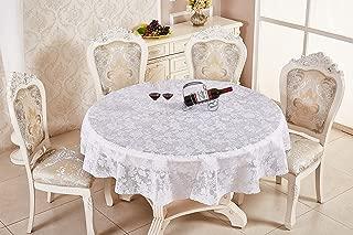 70 inch round elastic vinyl tablecloth