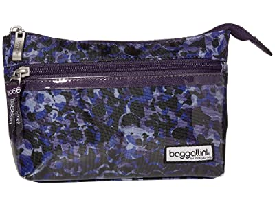 Baggallini Cosmetic Pouch (Abstract Bloom) Handbags
