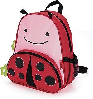 """Skip Hop Toddler Backpack, 12"""" Ladybug School Bag, Multi"""
