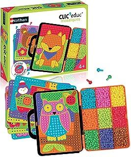 Nathan - Clic educ Mosaïques - Jeu d'apprentissage des couleurs dès 4 ans