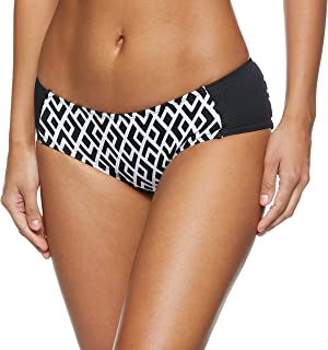 Dorina Palawan Bikini Bottom for women in Black Graphic, Size: XS