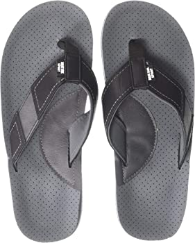 MUK LUKS Men's Mason FLIP Flop-Black Sandal