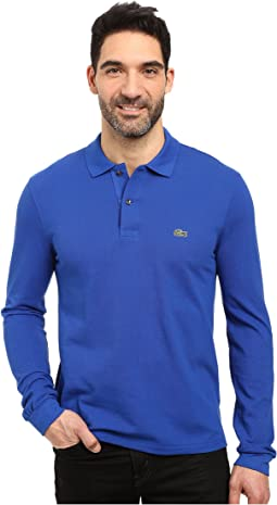 Long Sleeve Classic Pique Polo Shirt
