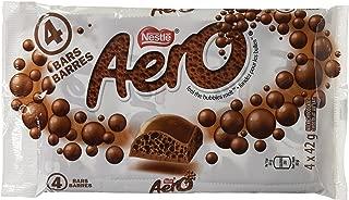 Nestle Aero Milk Chocolate Bar-pack 4 Pack From Canada