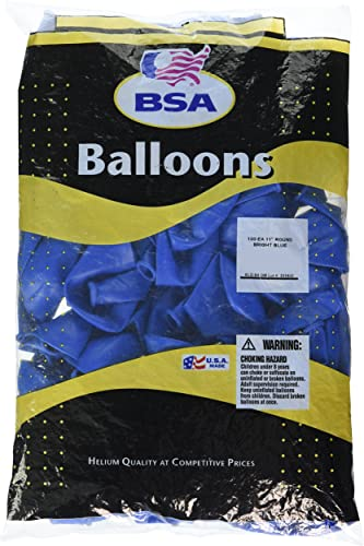 a precios asequibles Pioneer Balloon 100 Count BSA BSA BSA Latex Balloons, 11, Bright azul by Pioneer National Latex  el mas de moda