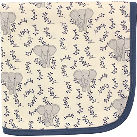 Touched By Nature Girl Toddler Organic Cotton Dress 2-Pack Pink Elephant