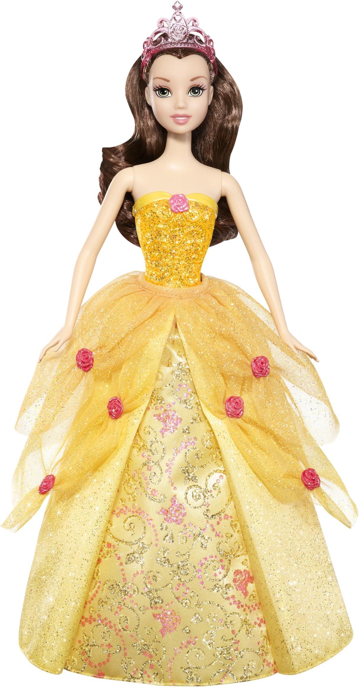 Disney Princess 2-In-1 Ballgown Surprise Belle Doll