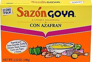 Goya Foods Sazon Con Azafran Seasoning, 20 ct