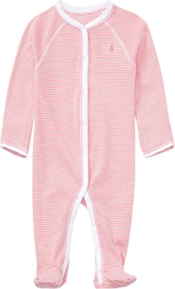 BSR Yarn-Dyed Stripe One-Piece Coveralls (Infant)