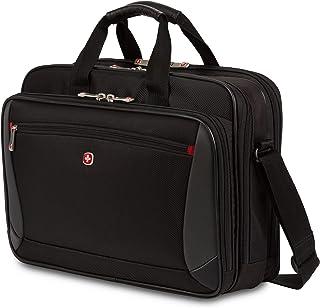 "Wenger Luggage Mainframe 15.6"" Laptop Brief Bag, Black, One Size"
