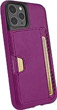 Smartish iPhone 11 Pro Wallet Case - Wallet Slayer Vol. 2 [Slim Protective Kickstand] Credit Card Holder (Silk) - Purple Reign