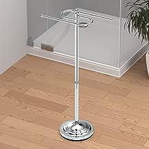 Gatco 1505 Floor Standing S Style Towel Holder, Chrome