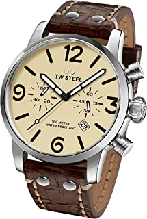 TW Steel Casual Watch For Men Analog Leather - MS23