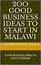small businesses in malawi