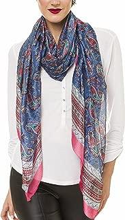Scarf for Women Lightweight Silk Feel Fall Winter Oblong Fashion Scarves Shawl by Melifluos
