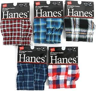 【Hanes】メンズ トランクス 紳士 ランダム セット 3枚 4枚 5枚