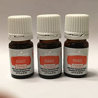 Vitality Orange Essential Oil 3 pk of 5ml bottles by Young Living Essential Oils
