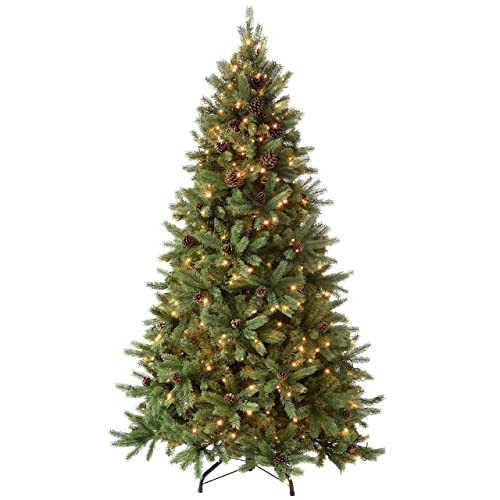Artificial Christmas Trees Amazon Uk: Pre Lit Artificial Christmas Tree: Amazon.co.uk