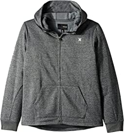 Hurley Kids - One and Only Therma Fit Full Zip Hoodie (Big Kids)