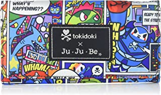 JuJuBe Be Rich Tri-Fold Wallet with Snap Enclosure, Tokidoki Collection - Super Toki
