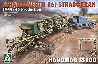 TAK02124 1:35 Takom Stratenwerth 16T Strabokran 1944-45 Production & Hanomag SS100 [Model Building KIT]
