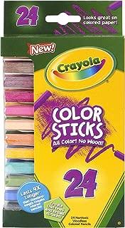 Crayola 24 Ct Color Stick Pencils, 24 Assorted Colors (68-2324)