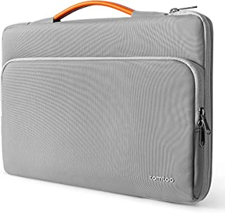 tomtoc 360 Protective Laptop Carrying Case for 12.3 Inch Surface Pro 8/X/7+/7/6/5, 13-inch New MacBook Air M1/A2337 A2179 ...