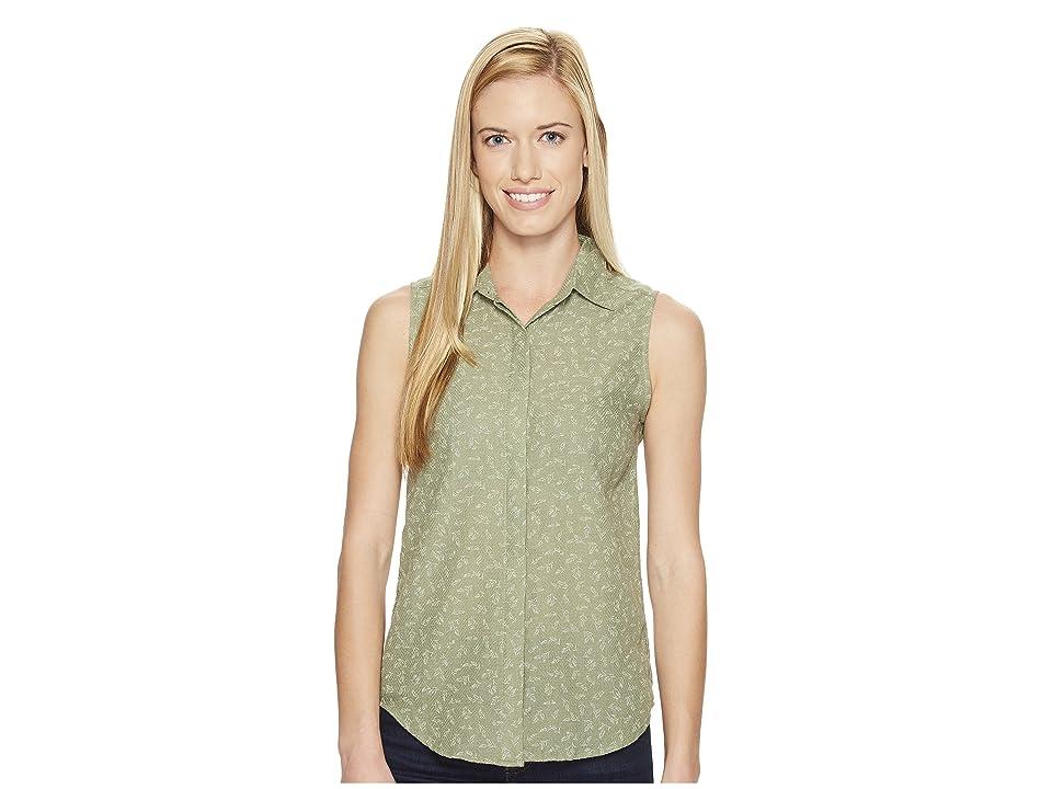 United By Blue Sleeveless Primrose Shirt (Green) Women