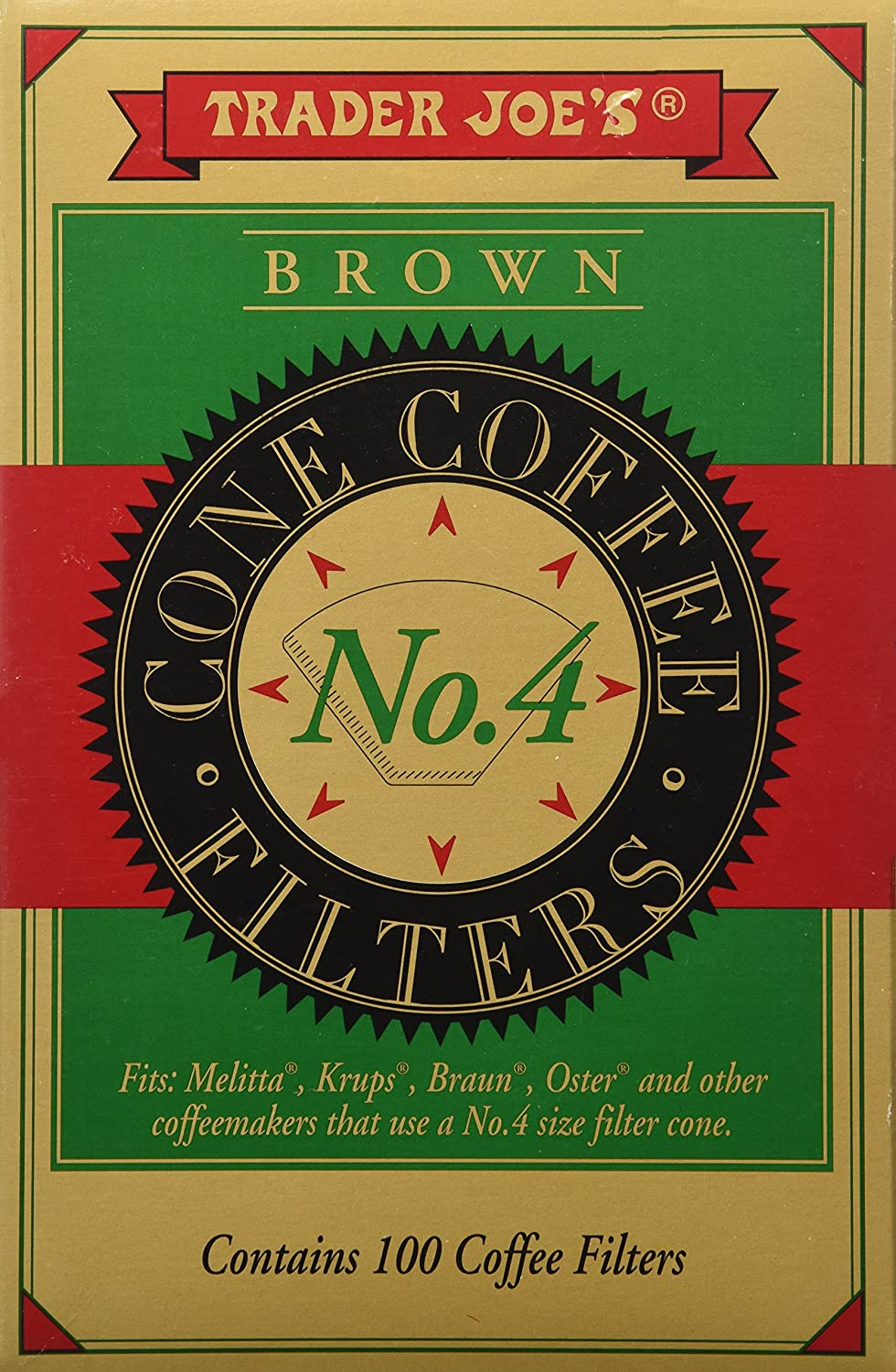 Trader Joe's Brown Cone Coffee Cheap bargain We OFFer at cheap prices 100 Filters
