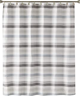 SKL Home by Saturday Knight Ltd. Westwick Stripe Shower Curtain, Gray/Multicolored