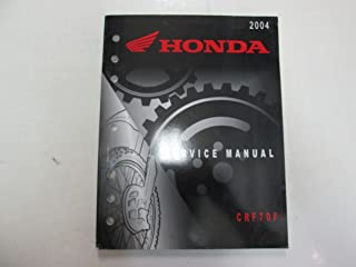 2004 Honda CRF70F Motorcycle Service Repair Manual WORN FACTORY OEM BOOK 04 DEAL