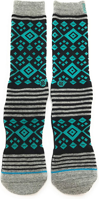 Stance Men's Diamondback Socks Turquoise L/XL (9-13)