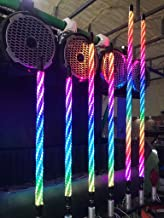 PAIR 4 ft TWISTED EXTREME LED LIGHT WHIPS