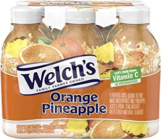 PACK OF 12 - Welch's Orange Pineapple - 6 PK, 10.0 FL OZ