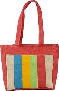 Tribes India Women's Handbag (1SGABAGTS00019_1_Blue & Green)