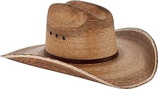 Western Cattleman Straw Cowboy Hat for Men