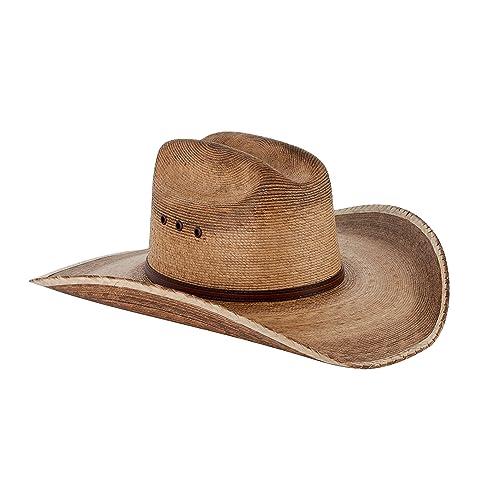 477121f4e0f5af Western Cattleman Straw Cowboy Hat for Men Light Brown