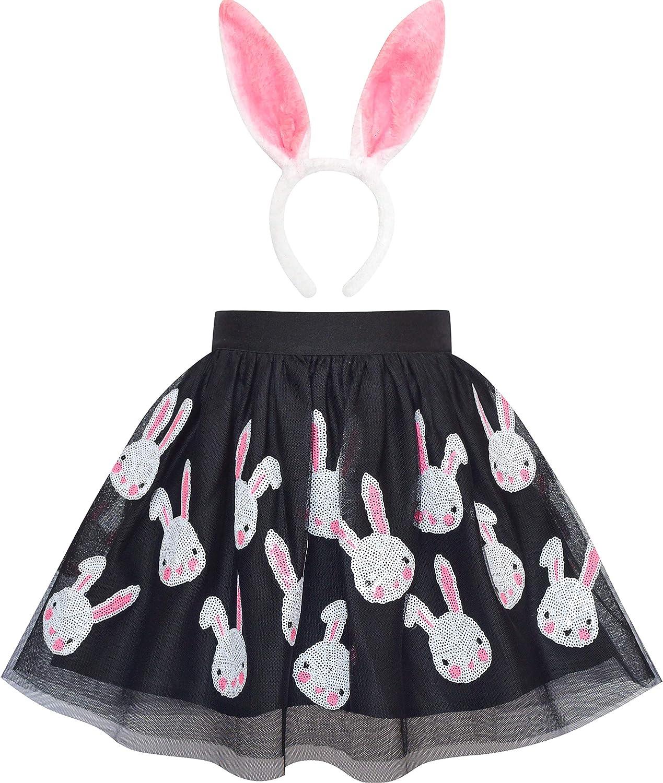 Sunny Ranking TOP18 Fashion Girls Dress Easter Egg Bunny Rabbit B New Shipping Free Shipping Skirt Hunter