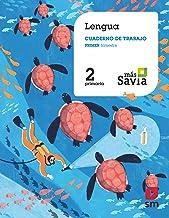 Cuaderno de lengua. 2 Primaria, 1 Trimestre Más Savia