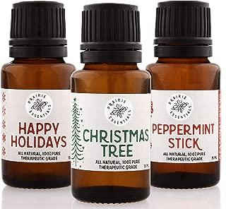 Holiday Joy Blends 3-Pack, 15ml Bottles: Christmas Tree, Happy Holidays, Peppermint Stick (Holiday Joy Blends 3-Pack)