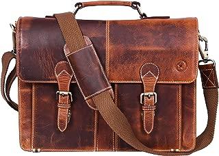 leather tablet messenger bag