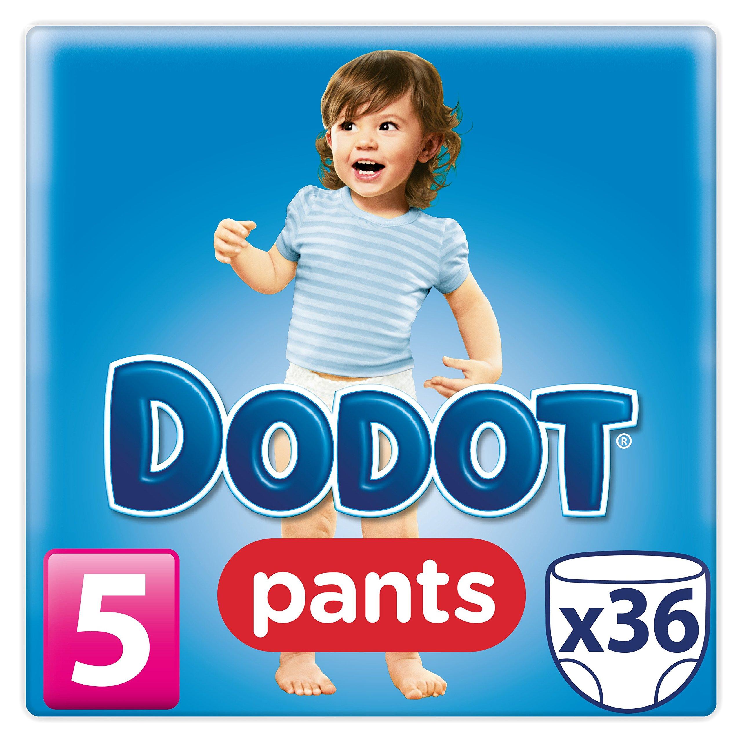 Dodot Pants - Pack 36 pañales, talla 5, 12-18 kg: Amazon.es: Salud ...