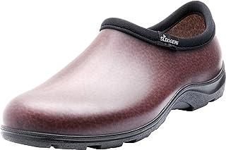 mens Men's Waterproof Comfort garden shoe, Brown, 10 US