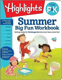 Summer Big Fun Workbook Bridging Grades P & K (Highlights(TM) Summer Learning)