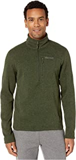 Marmot Men's Drop Line 1/2 Zip Pullover Lightweight 100-Weight Sweater Fleece Jacket