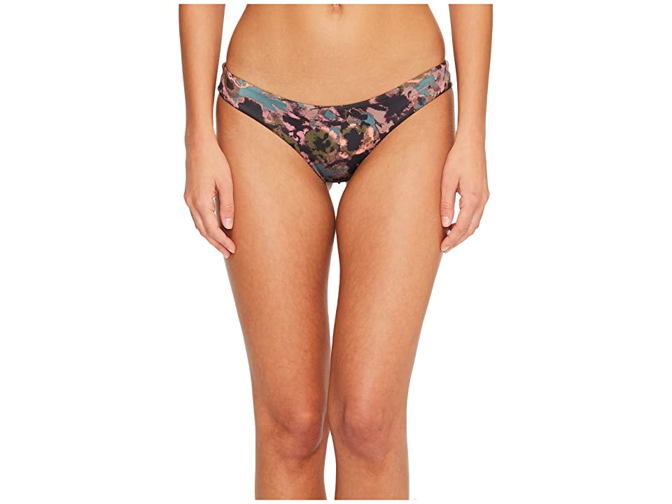 RVCA Camo Floral Cheeky Bottom (Mauve) Women